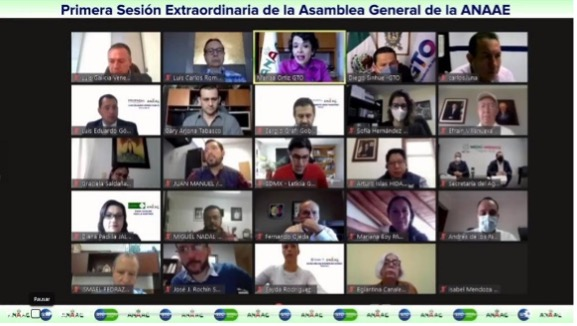 1ª Asamblea Extraordinaria de la ANAAE en Gobierno del Estado de Guanajuato