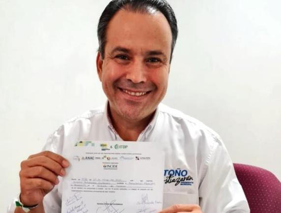 Firma del compromiso por el Desarrollo Sustentable y la Acción Climática del candidato, Antonio Astiazarán en Hermosillo, Sonora.