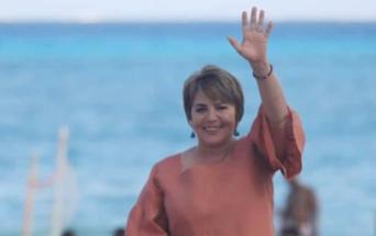 Firma del compromiso por el Desarrollo Sustentable y la Acción Climática de la candidata Laura Beristain Navarrete en Solidaridad, Quintana Roo