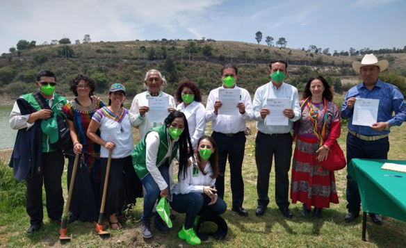 Firma del compromiso por el Desarrollo Sustentable y la Acción Climática del candidato José Luis Durán Reveles en Estado de México
