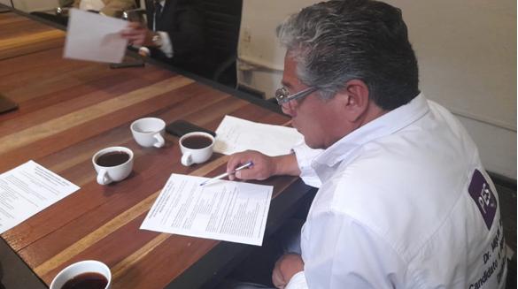 Firma del compromiso por el Desarrollo Sustentable y la Acción Climática del candidato Miguel Ayllón en Puebla