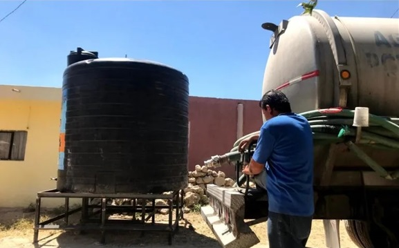 «Sistema de rutas de pipas de agua gratuitas» TONALÁ, JALISCO