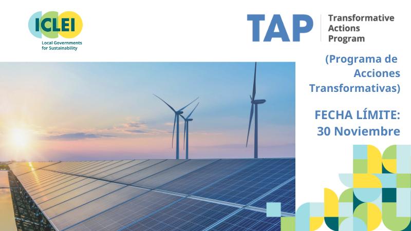 TAP 2021 (Programa de Acciones Transformativas)