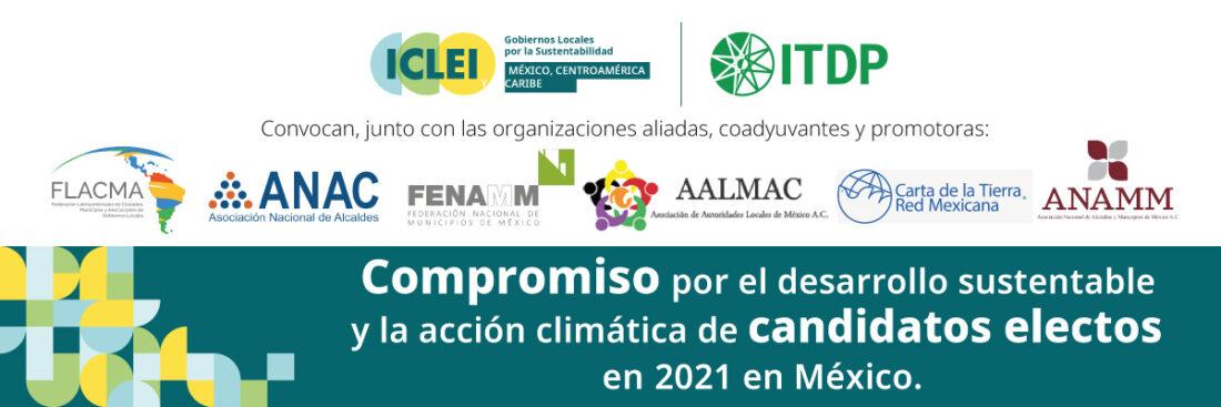 Compromiso por el Desarrollo Sustentable y la Acción Climática, candidatos electos 2021 en México.